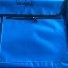 Zippered Pocket for Magazines and Tablets