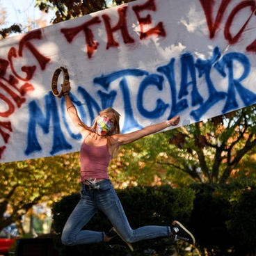 MONTCLAIR RALLIES TO 'MAKE EVERY VOTE COUNT'