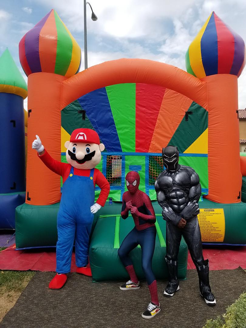 Mascot & Superhero Theme Characters