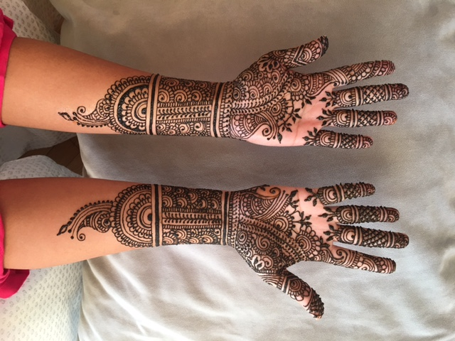 Traditional Bridal Henna Design