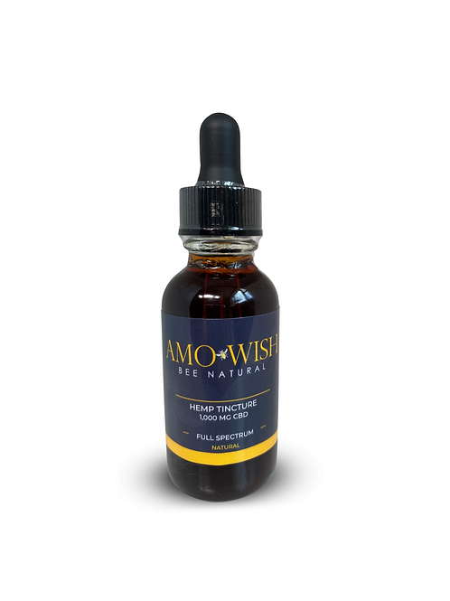 CBD Full Spectrum Tincture - Natural - 1000MG