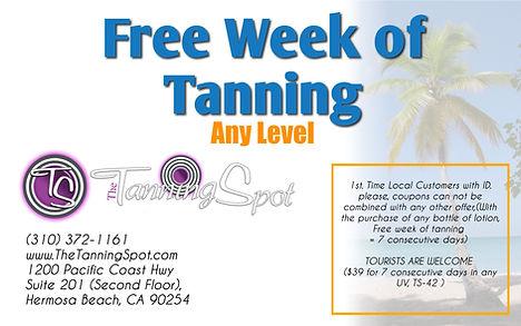 Free Tanning in Hermosa Beach
