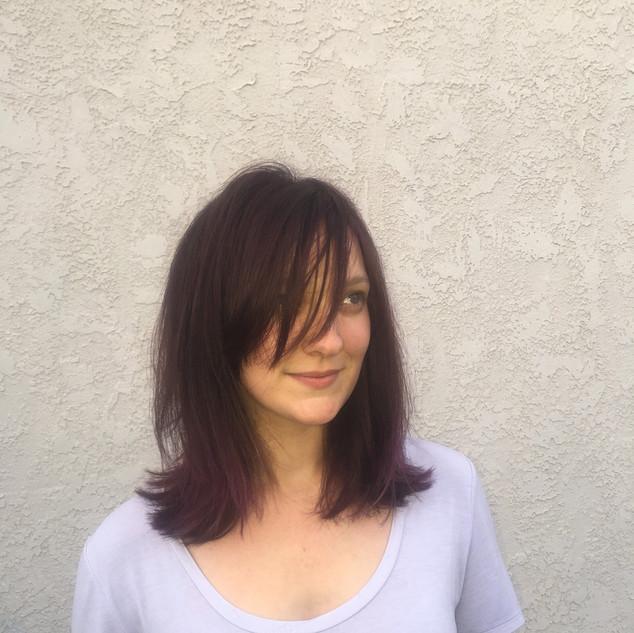 Blonde to Violet Hair is still an eye opener.