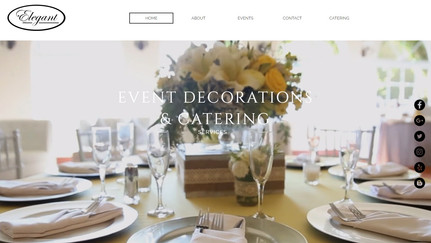 Elegant Event Decorations