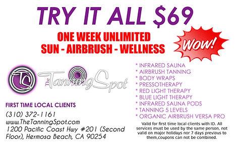 Tanning Specials in Hermosa Beach