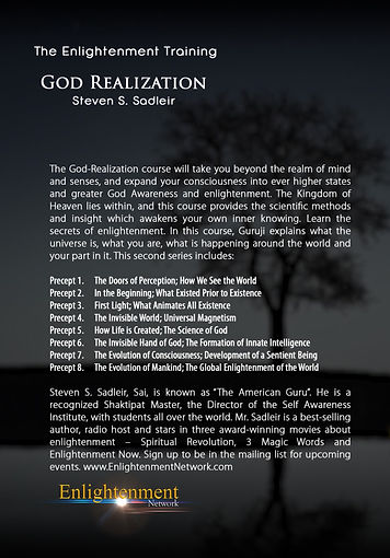 God Realization - Steven Sandleir