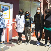 TRYING TO BREAK THE 'BRICK WALL,' GET MORE OF MONTCLAIR'S BLACK AND BROWN RESIDENTS VACCINATED