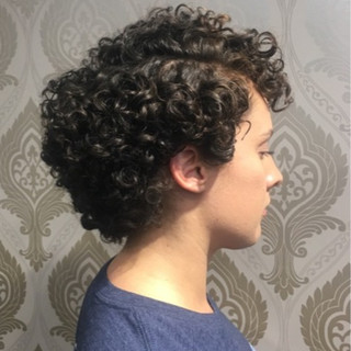 Shaped Curly Cut with Detox, Hydrate and Define.