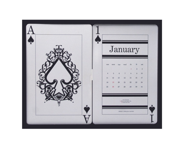 Typographic Calendar ( January )