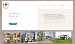 Serrano Good Touch Website for a professional painting Company in New...