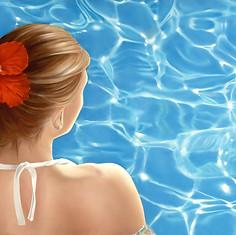Sarah Swimming