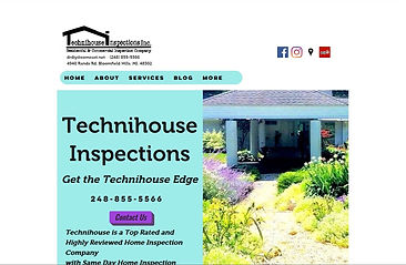 Technihouse Inspections Old Website