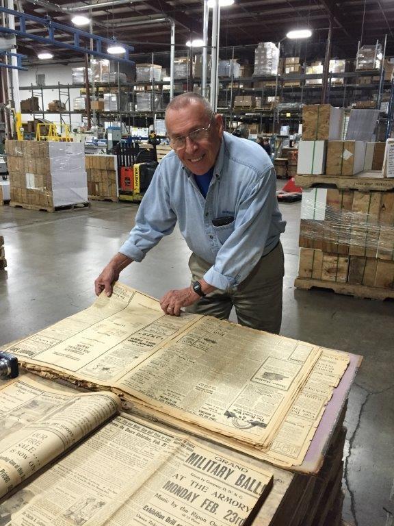 Ed Kuehn at Ripon Printers