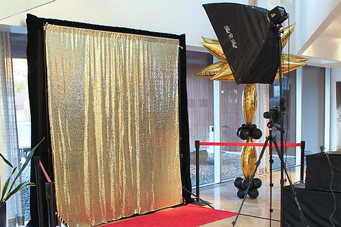 Photo Booth Backdrops & Deco