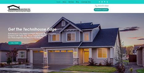 Technihouse Inspections New Website