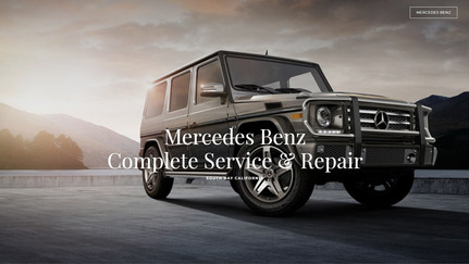 Mercedes Service and Repair