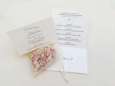 Wedding ( Ceremony ) Invitation