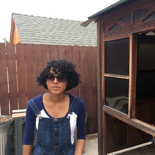 Curly Bob Cut For 3B 3C Hair.