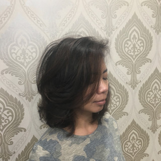 Layered Cut for this Beautiful Brunette. Silky Blowout Included.