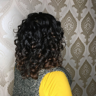 Cleanse, Hydrate and Define Curl for this First Time Natural Curly Client.