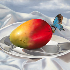 Mango with Butterfly