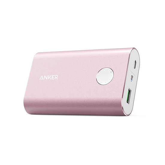 Anker PowerCore+ 10050mAh with Quick Charge 3.0 UN Pink