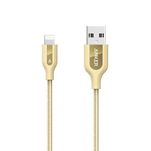 Anker PowerLine+ Lightning Cable (3ft) Gold