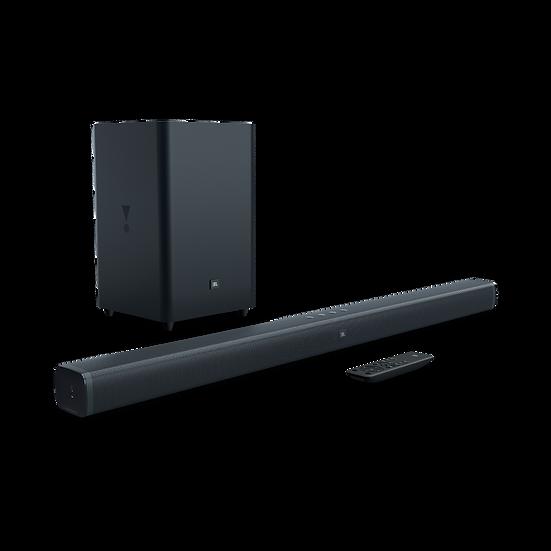 JBL Premium Soundbar 2.1-Channel Home Theater Speaker System, Black