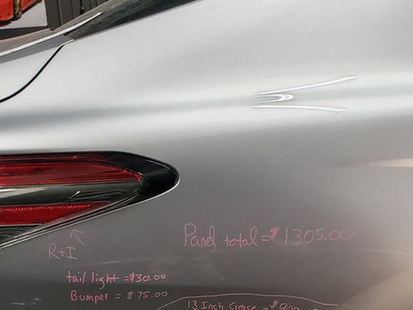 How much does Paintless Dent Repair (PDR) cost?