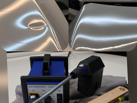 One Special PDR Tool Saves This Mercedes Hood!