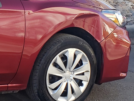 When to use insurance for Paintless Dent Repair's.