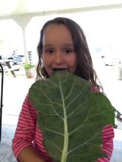 eating Biera Kale