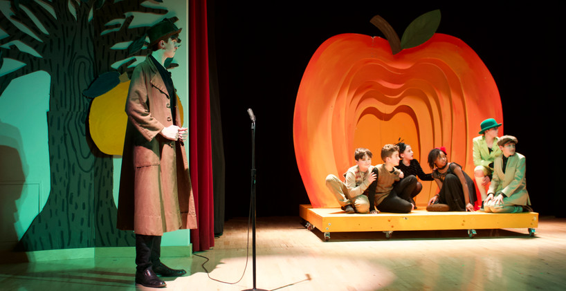 James and The Giant Peach Jr. Friends Select School. Feb 2020
