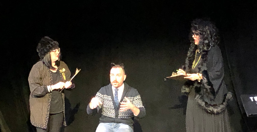 MISS CAST (9) Lives. Mauckingbird Theatre Co. Jan 2020