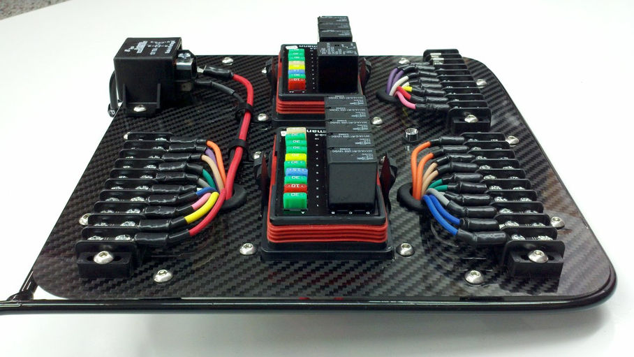 E Race Car Wiring