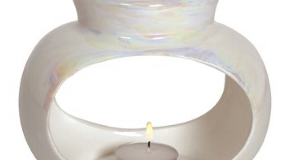 Single Oval Lustre Burner Gift Set