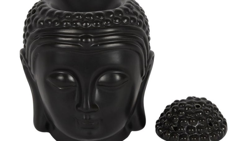 Buddha Head Burner Gift Set