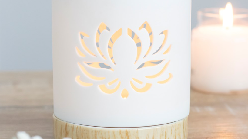 Lotus Cut Out Burner Gift Set