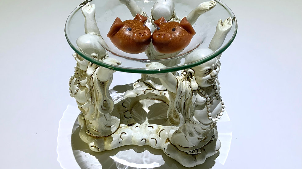 Buddha Burner Gift Set