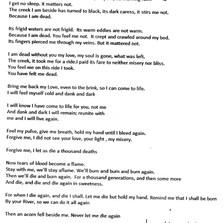 """Greg Kelly - """"An Acorn Fell"""""""