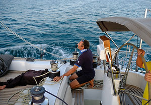 Andrea on Sailing Yacht COCAL