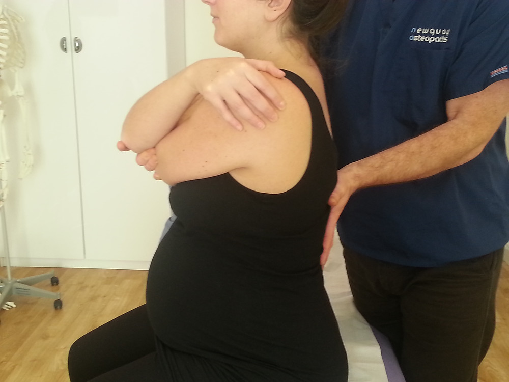 Osteopathy during pregnancy