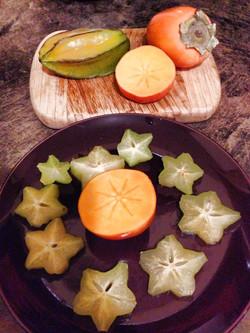 Star Fruit & Persimmon