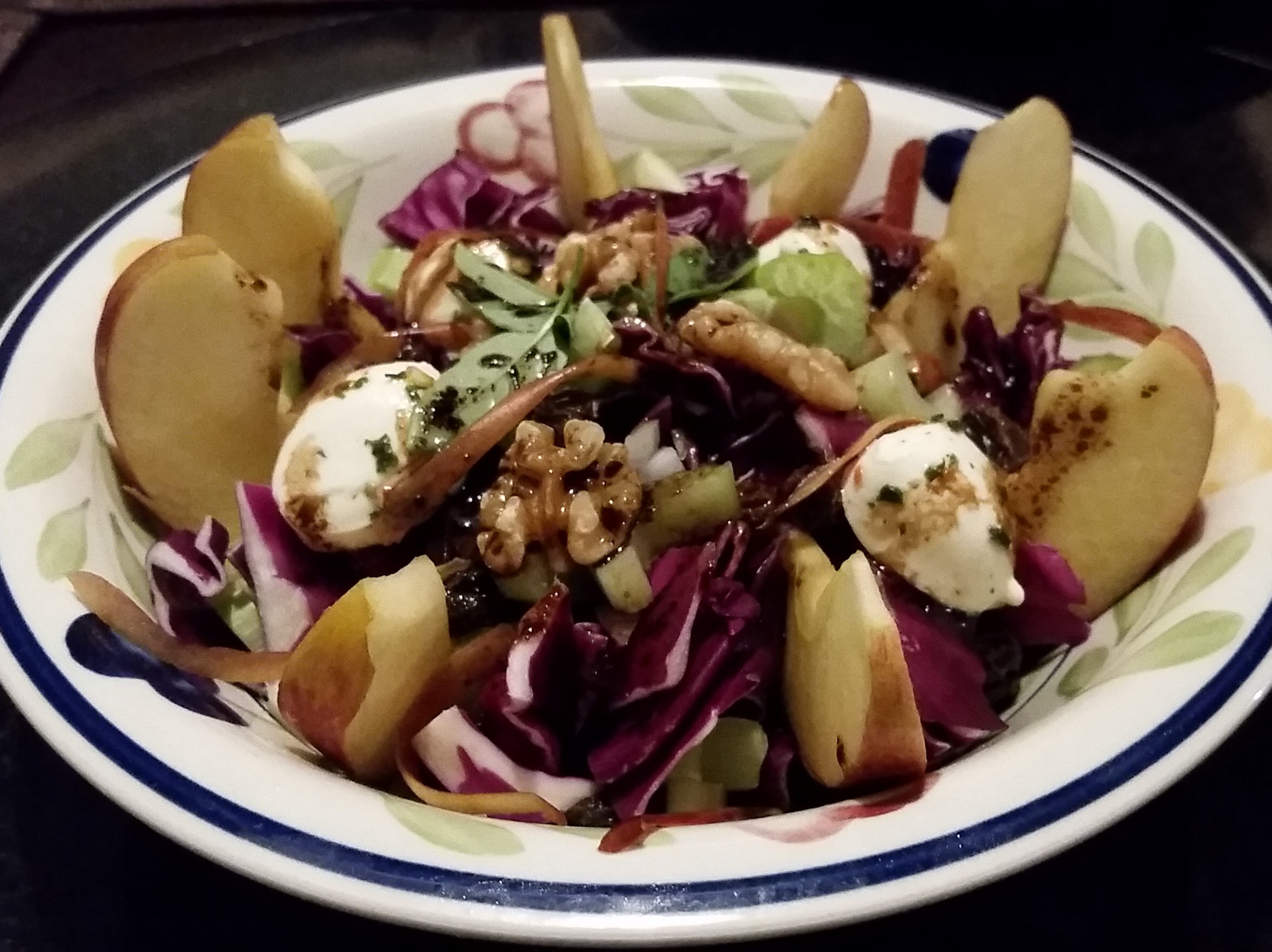 Apple & Red Cabbage Salad
