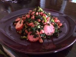 Sausage & Kale