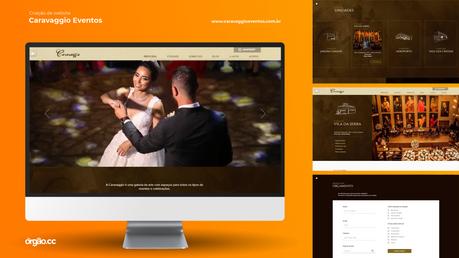 Órgão - Criação de Website - Caravaggio