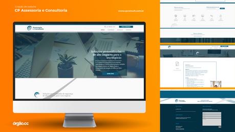 Órgão - Criação de Website - CP Consult.