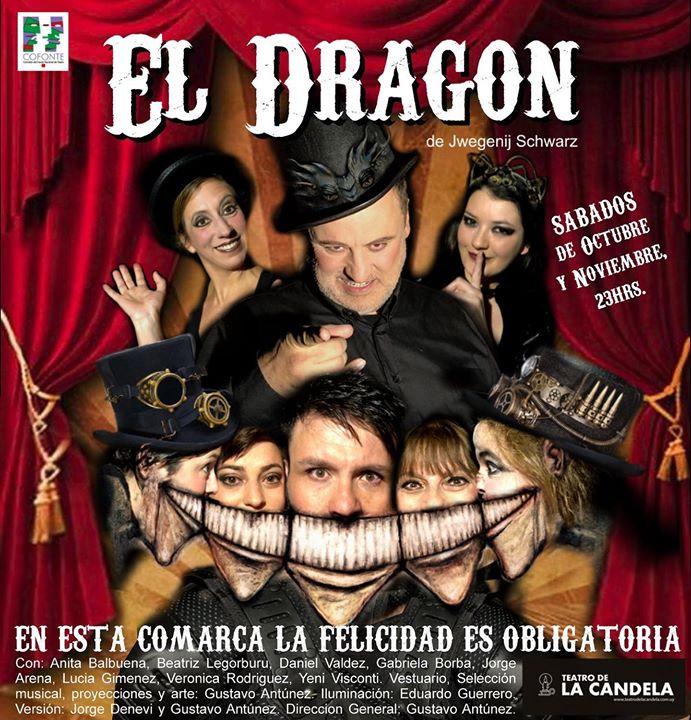 El Dragón obra de teato EscuelaVyG