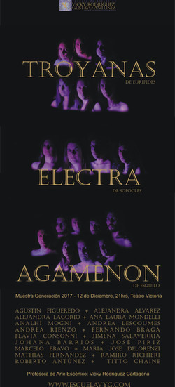 Troyanas Electra Agamenon