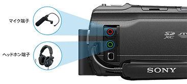 ビデオ 音声モニター 外付けマイク ガンマイク オプションパーツ 音質重視